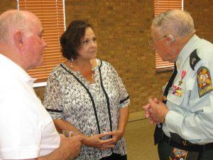 Jack Frank, Jerry Smith, Myra Thompson July 2016